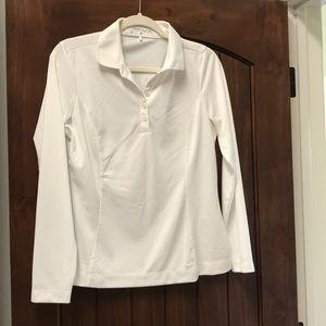 Nike long sleeve golf shirt